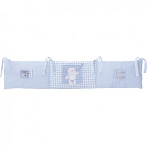 Obaby B Is For Bear 3pc Crib Set - Blue