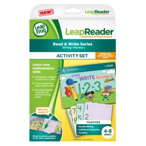 Leap Frog LeapReader Learn to Write Numbers with Mr Pencil