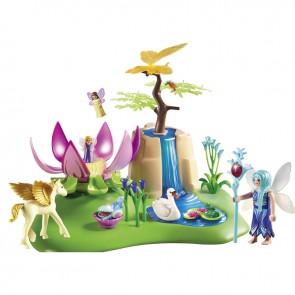 Playmobil Mystical Fairy Glen with Glowing Flower Throne
