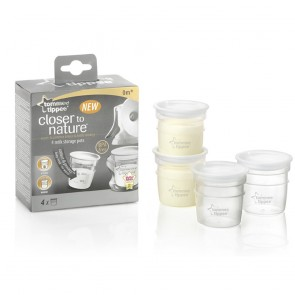 Tommee Tippee Closer to Nature Breast Milk Storage Containers