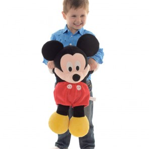 """Disney Clubhouse Flopsies Soft Toy Extra Large 20"""" Mickey"""