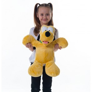 """Disney Clubhouse Flopsies Soft Toy Extra Large 20"""" Pluto"""