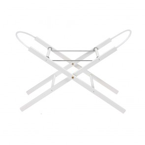 East Coast Stand for Moses Basket White