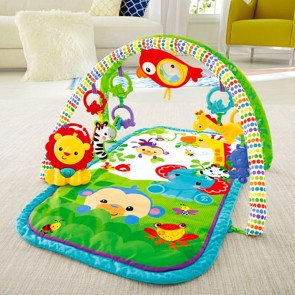 Fisher-Price 3-in-1 Busy Baby Rainforest Activity Gym