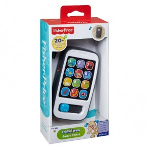 Fisher-Price Laugh & Learn Smart Phone Grey