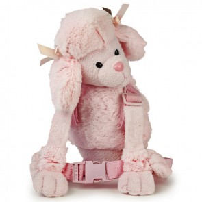 Goldbug Harness Buddy Pink Poodle