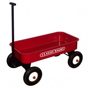 Great Gizmos Red Classic Pull Cart