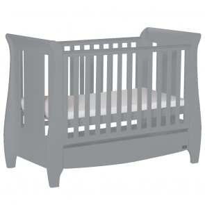 Tutti Bambini Katie Cot Bed - Cool Grey