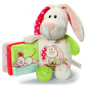 Nici Soft Rabbit with Plush Book
