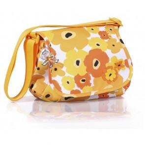 Okiedog Genie Flower Power Changing Bag Orange/Yellow