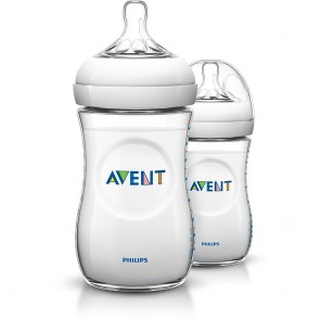 Philips Avent Natural Bottle 9oz/260ml - 2 Pack