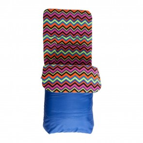 Red Kite Fleece Lined Cosytoes Blue Aztec