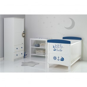 Obaby Grace Inspire 3 Piece Room Set & Changing Mat - Little Sailor