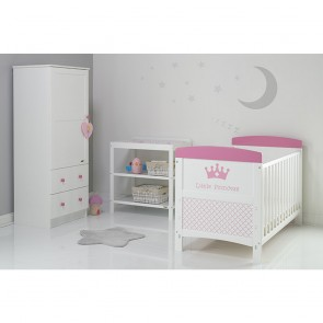Obaby Grace Inspire 3 Piece Room Set & Changing Mat - Little Princess