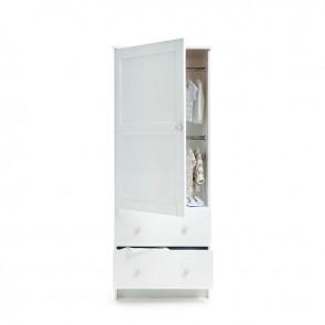 Obaby Single Wardrobe - White