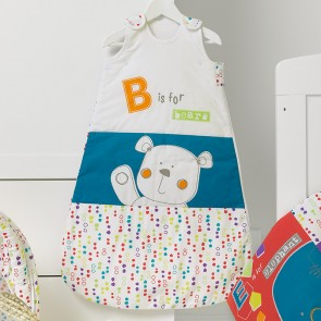 Obaby B Is For Bear Sleeping Bags 0-6 - Happy Safari