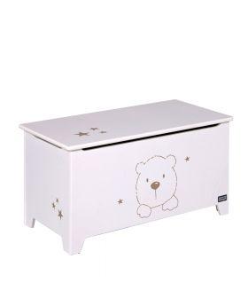 Tutti Bambini 3 Bears Toy Box - Beech/White