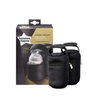 Tommee Tippee Closer to Nature Insulated Bottle Carriers-Pack of 2