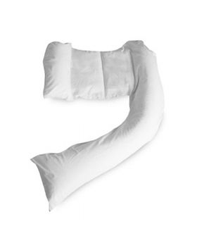 Dreamgenii Pregnancy Pillow COVER White