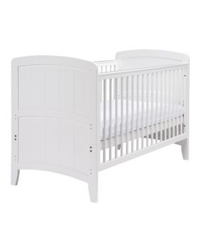 East Coast Venice Cot Bed-White