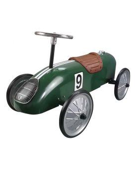 Great Gizmos Retro Racer Sit n Ride Car - Green