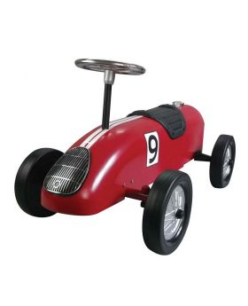 Great Gizmos Retro Racer Sit n Ride Car - Red