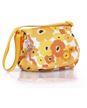 Okiedog Genie Flower Power Changing Bag Orange/Yellow
