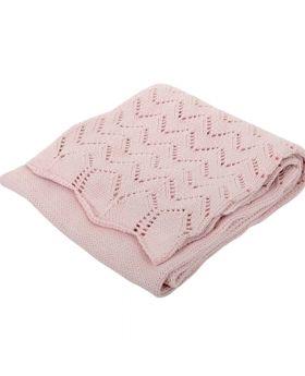 Silvercloud Cotton Shawl Dusty Pink