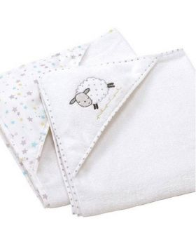 Silvercloud Counting Sheep Cuddle Robe Twin Pack