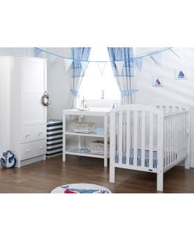 Obaby Lily 3 Piece Room Set - White