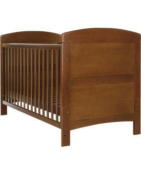 Obaby Grace Cot Bed - Walnut