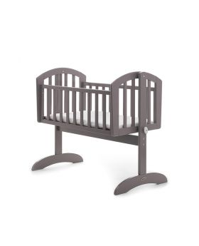 Obaby Sophie Swinging Crib - Taupe Grey