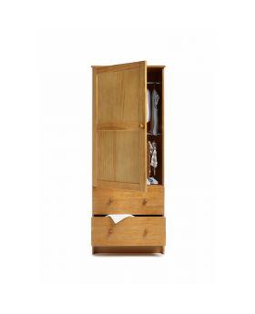 Obaby Single Wardrobe - Country Pine
