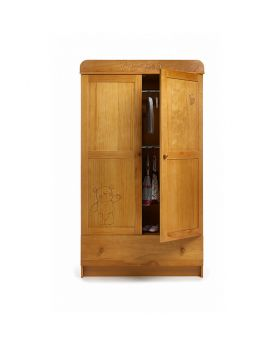 Obaby Double Wardrobe - B Is For Bear - Country Pine