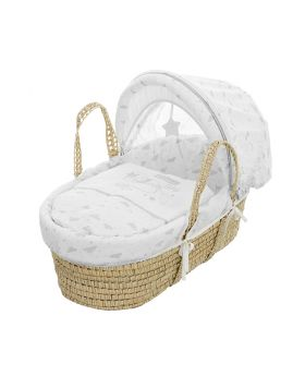 Obaby Winnie The Pooh Moses Basket - Dreams & Wishes