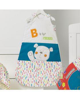 Obaby B Is For Bear Sleeping Bags 0-6 - Happy Safari