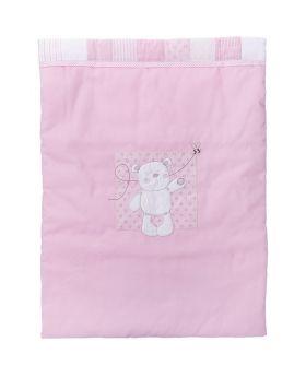 Obaby B Is For Bear 3pc Crib Set - Pink